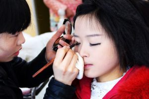 Bride Make Up Marriage in Hongkong